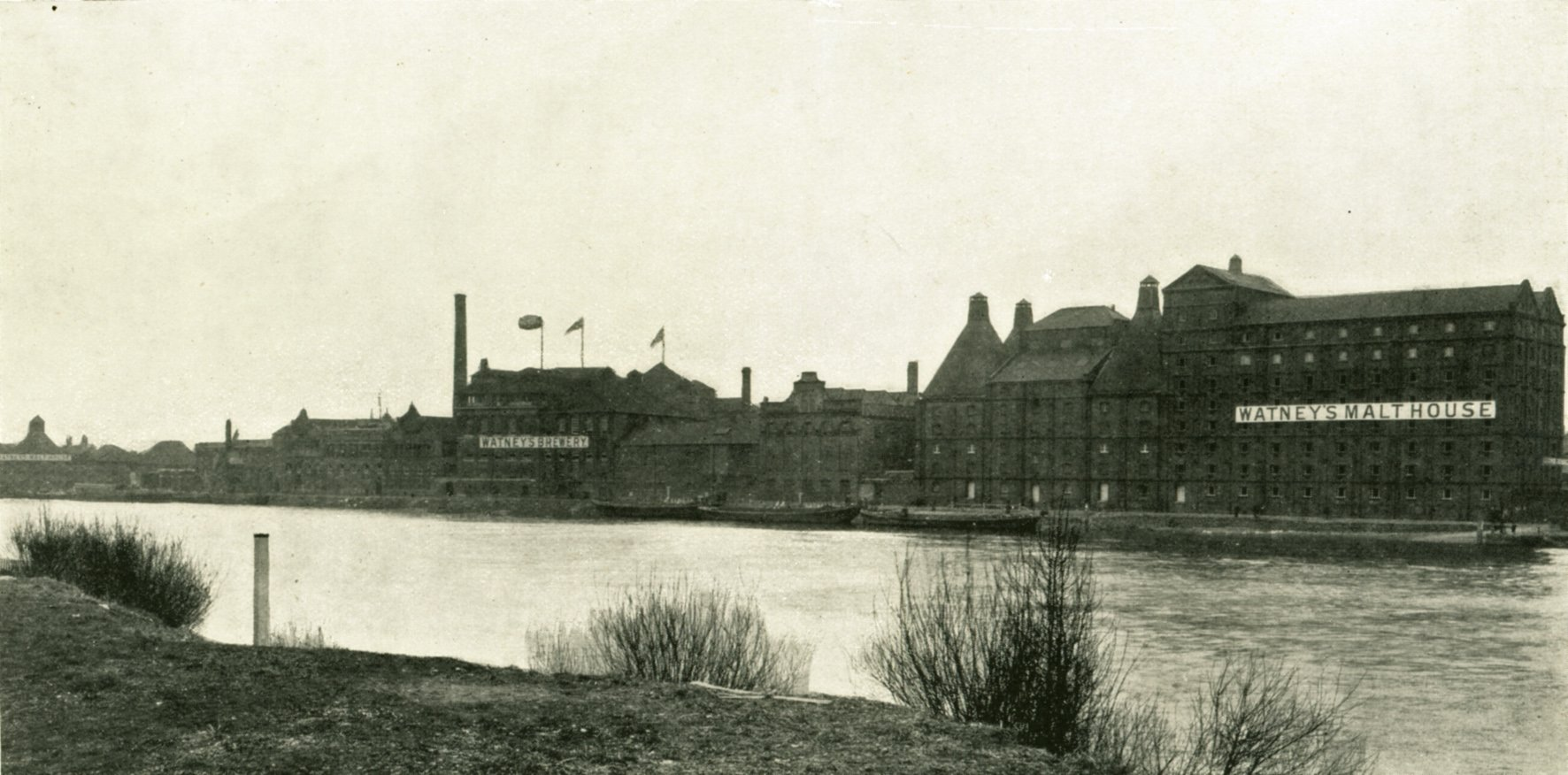old image of the brewery